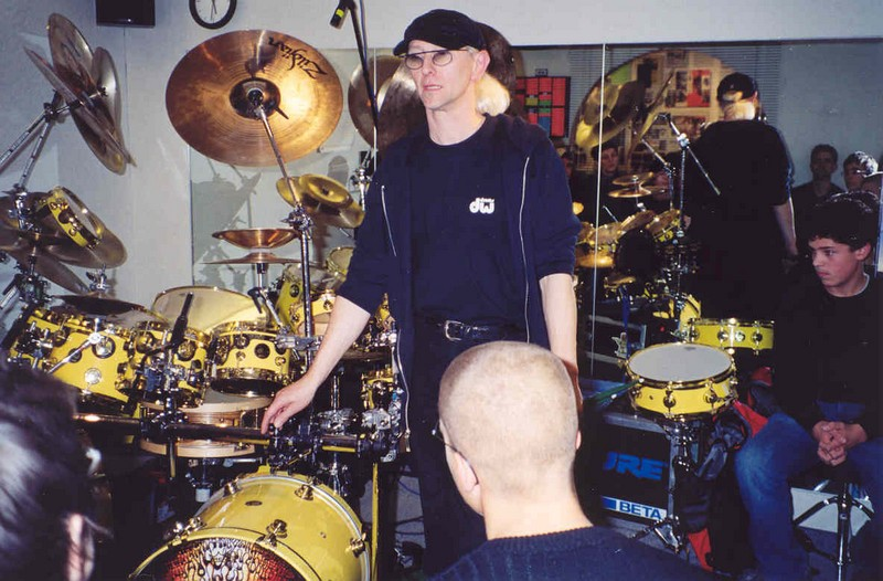 Drummers 2002 for Manni presse